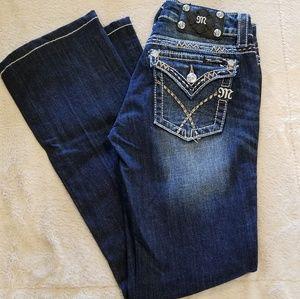 Miss Me Bootcut Jeans - 26 EUC